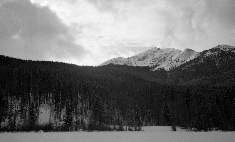 The mountains at Frisco, CO
